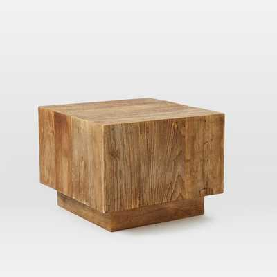 Plank Side Table - West Elm