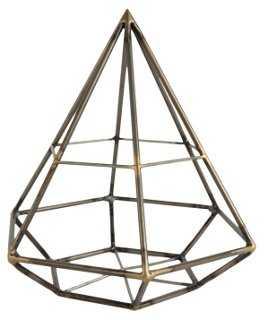 "10"" Diamond Geodesic Figurine - One Kings Lane"
