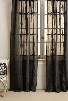 Moon Shadow Curtain - Anthropologie
