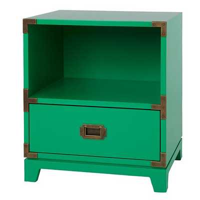 Campaign Nightstand Green - Land of Nod