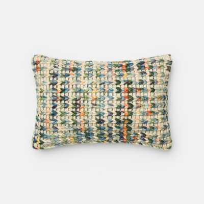 """Lumbar Pillow-13"""" H x 21"""" W x 3"""" D- Polyester/Polyfill insert - AllModern"""