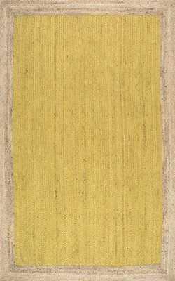 Hand Woven Eleonora - 8' x 10'- Yellow - Loom 23