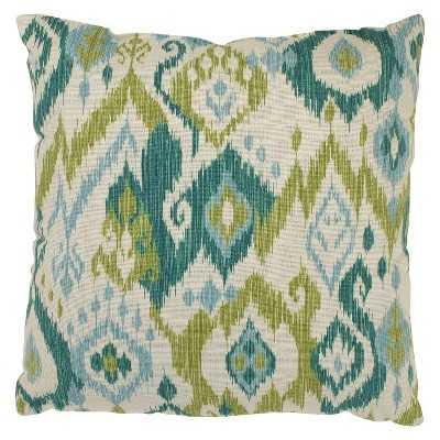 Gunnison Ikat Blue and GreenThrow Pillow Collection - Target