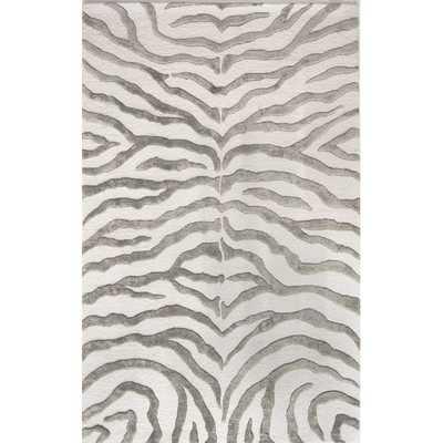 Earth Soft Zebra Area Rug - Wayfair