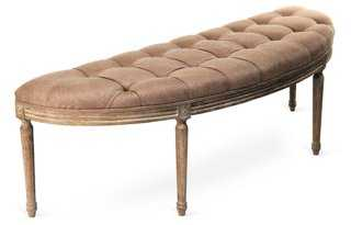 Hugo Curved Bench - One Kings Lane