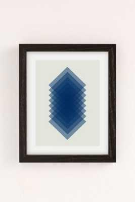 "Angela Ferrara Sky Slices Art Print - 30"" x 40"" - Framed - Urban Outfitters"