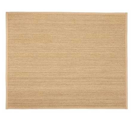 FIBREWORKS® CUSTOM COLOR-BOUND SEAGRASS RUG - NATURAL - Pottery Barn