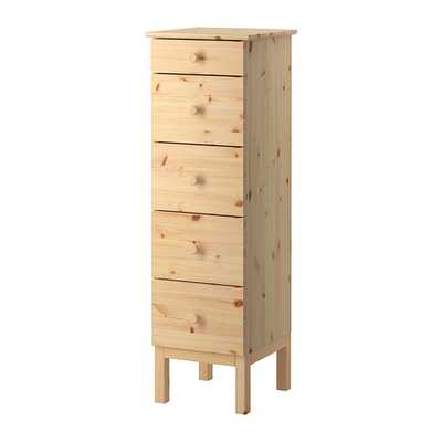 Tarva-5-drawer chest - Ikea