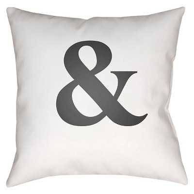 Emoticons Pillow - Ampersand - 22x22 - With Insert - Target