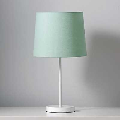 Light years table lamp shade (mint) - Land of Nod