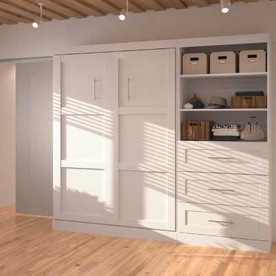 Pur Full Storage Murphy Bed - Wayfair