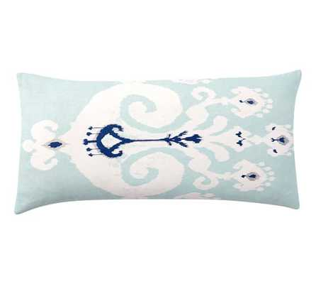 """SLOANE IKAT PILLOW COVER-12"""" x 24""""-insert sold separately - Pottery Barn"""