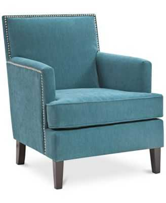Kendall Fabric Accent Chair - Macys
