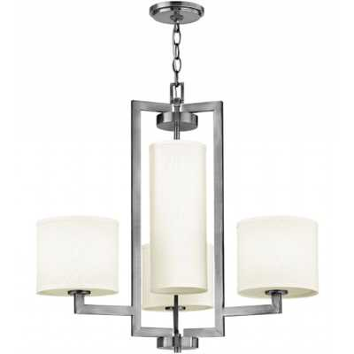 Hampton 3209 Chandelier - Antique Nickel - lightology.com
