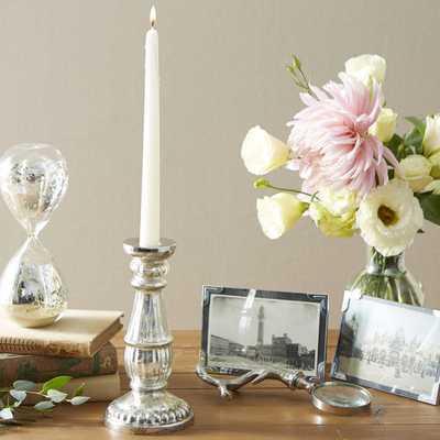 Mercury Glass Candlestick Holder - Wayfair