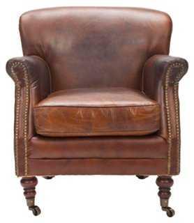 Mavis Club Chair - One Kings Lane