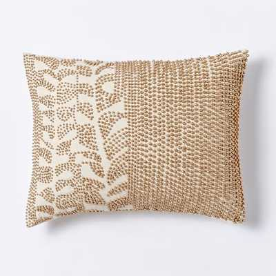 Beaded Stems Pillow Cover - West Elm