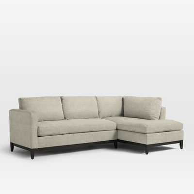 Blake Down-Filled Right Chaise 2-Piece Sectional - West Elm