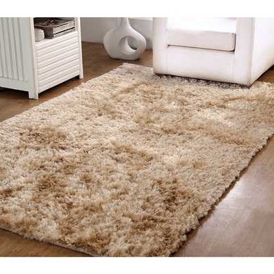 Affinity Home Hand-Woven Silken Luxurious Shag Rug - Overstock