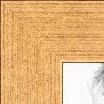 17x20 Classic Gold picture frame with Styrene - arttoframe.com