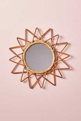 Magical Thinking Woven Wall Mirror - Sun - Urban Outfitters