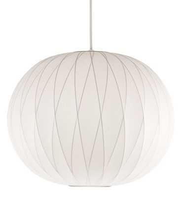 """Nelsonâ""""¢ Crisscross Ball Pendant Lamp-White - Design Within Reach"""