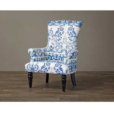 Baxton Studio Darlington Porcelain Arm Chair - Overstock