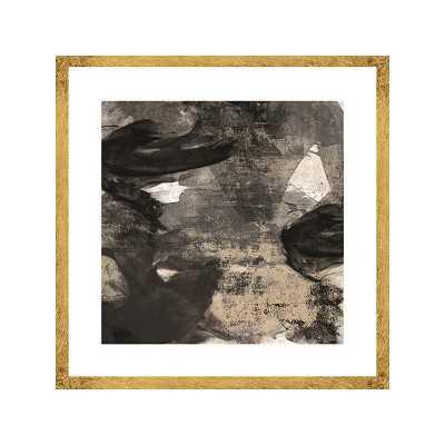 "Black Tie I Framed Graphic Art Shadow Box - 22.75"" H x 22.75"" W - Wayfair"