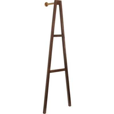 crossbar wall-mounted clothes stand - CB2