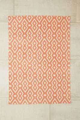 """Magical Thinking Salta Geo Printed Rug-Coral-8""""x10"""" - Urban Outfitters"""