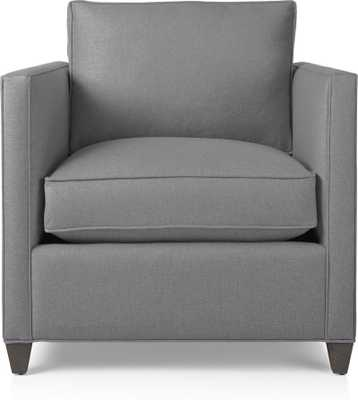 Dryden Chair - Fog - Crate and Barrel