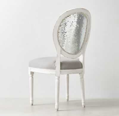 VINTAGE FRENCH SEQUIN DESK CHAIR - RH Teen