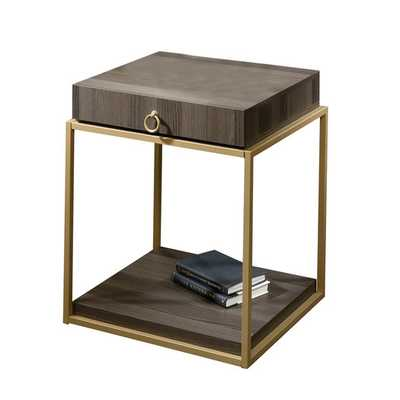 International Lux 1 Drawer End Table - AllModern