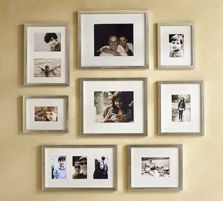 GALLERY IN A BOX - CHAMPAGNE FINISH FRAMES - Pottery Barn