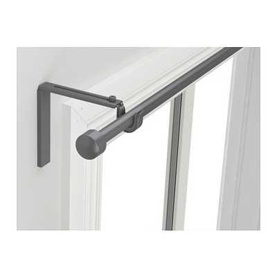 "RÃ""CKA Curtain rod combination, silver color - Ikea"