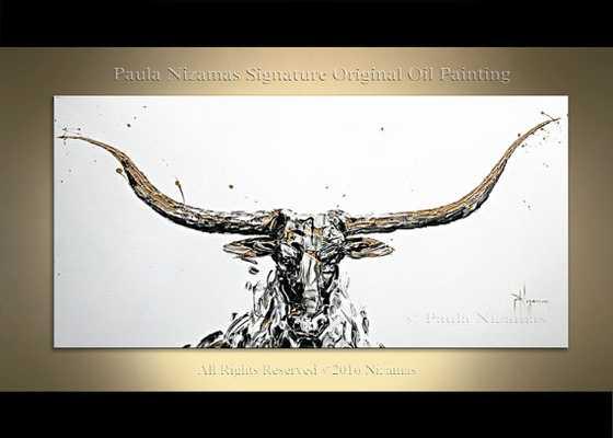 Painting Golden Horn - framed - Etsy