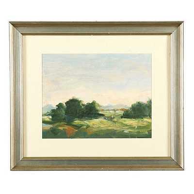 """Early Light Landscape Art- Print IV- 23 1/2""""H X 27 1/2""""W X 1 1/4""""D- Framed - Ballard Designs"""