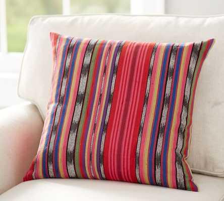 """Carmen Stripe Pillow Cover - 20"""" - Insert sold separately - Pottery Barn"""