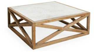 """Manning 48"""" Square Coffee Table - One Kings Lane"""
