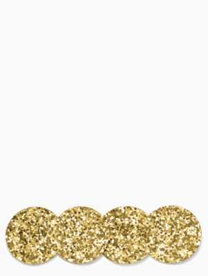 Happy Hour Gold Coaster Set - Kate Spade