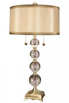 Aurora Crystal Table Lamp - Home Decorators