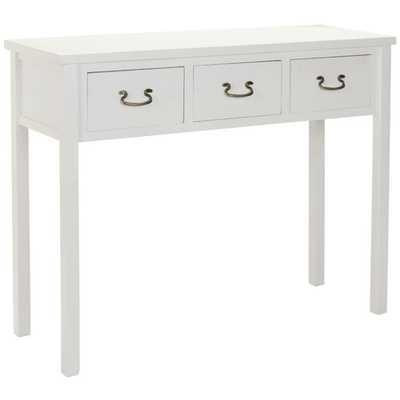 Safavieh Cindy Console Table - White - Wayfair