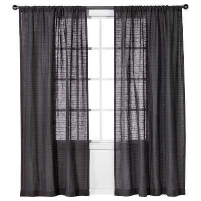 "Nate Berkusâ""¢ Horizontal Sheer Curtain Panel - Target"