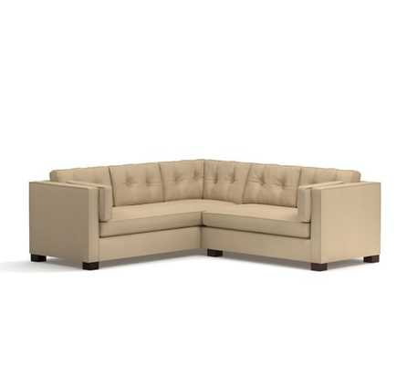 Stewart Upholstered 2 Piece Sectional - Pottery Barn
