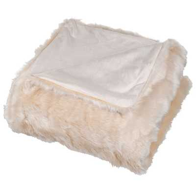 Faux Fur Throw Blanket - Wayfair
