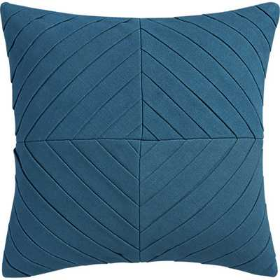 Meridian pillow - 16x16 - With Insert - CB2