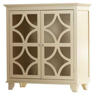 Dufferin 2 Door Floor Cabinet - Ivory - Wayfair