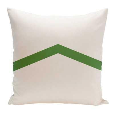 Beatrix Throw Pillow - Leaf, 16x16, Synthetic Down insert - Wayfair
