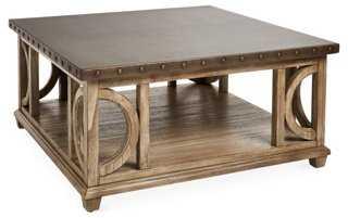 Wyatt Square Coffee Table - One Kings Lane
