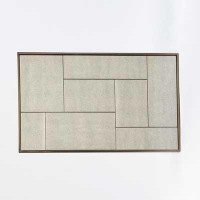 Multi-Panel Foxed Mirror - West Elm